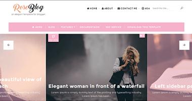 Rose Blog Blogger Template