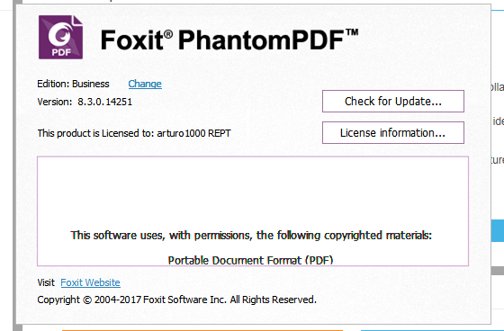 Foxit PhantomPDF 8 Business price philippines
