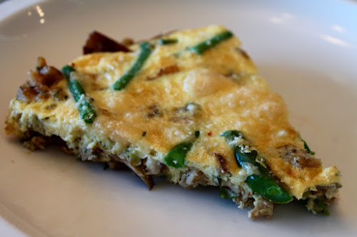 Sausage and Green Bean Frittata