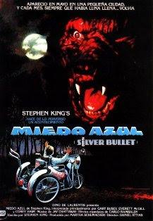 Miedo azul, Silver bullet, Stephen King, Daniel Attias, Don Coscarelli