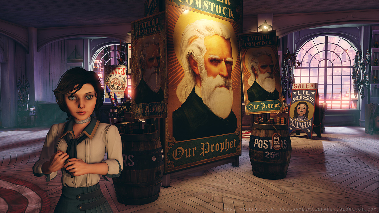 Bioshock Infinite Screenshot Wallpaper