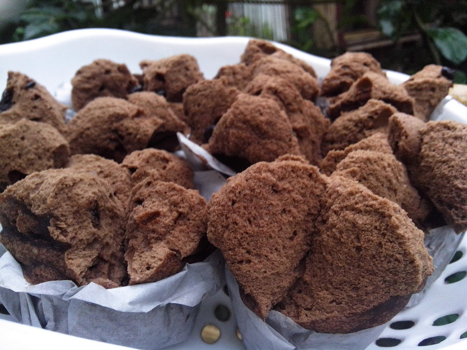 Resep Bolu Jadul Ny Liem: Dapur Semut: Brownies Kukus Mekar Ny Liem