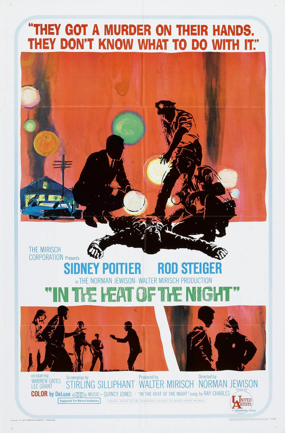 Movie Review Quot In The Heat Of The Night Quot 1967 Lolo