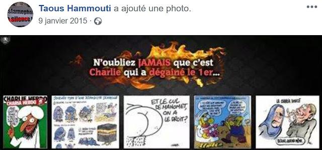 Taous Hammouti bascule dans l'apologie du terrorisme