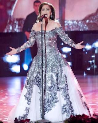 Foto de Isabel Pantoja en el escenario
