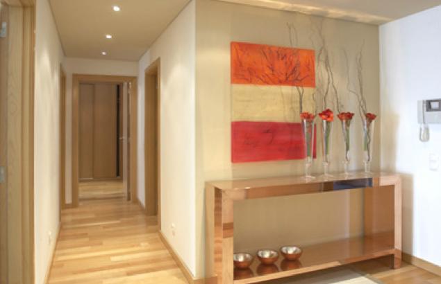Construindo minha casa clean 50 hall de entrada de casas modernas veja dicas de como decorar - Aparadores de entrada ...