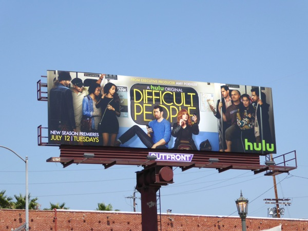 Difficult People season 2 billboard