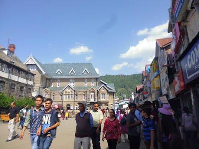 Tempat wajib dikunjungi di Shimla