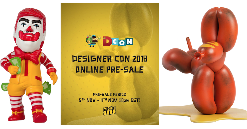 Mighty Jaxx Online Pre Sale Launched for DesignerCon 2018