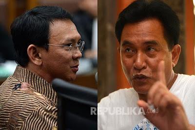 DPR dan Jokowi Tolak Permohonan Ahok, Ini Kata Yusril