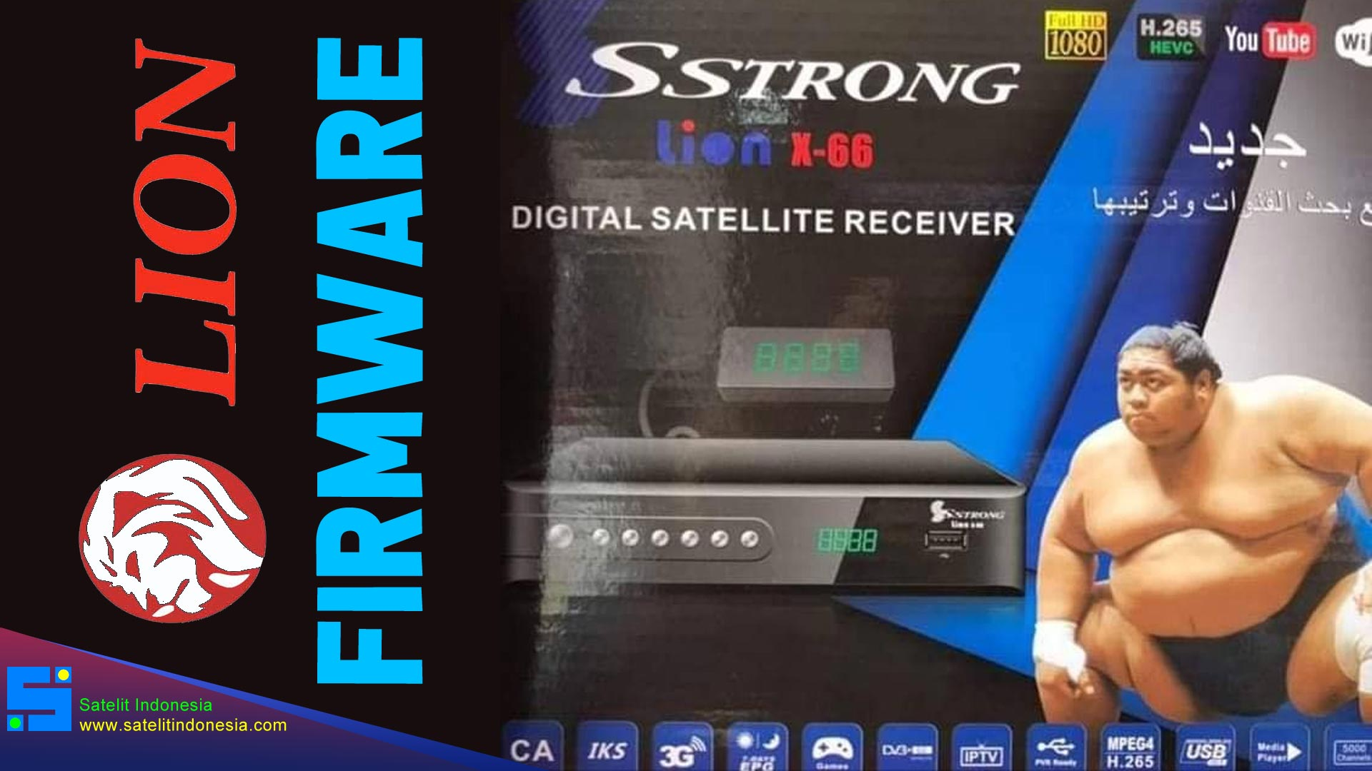 Download Software SStrong Lion X66 New Update Firmware Receiver