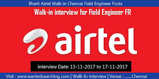 Bharti Airtel walk-in-interview