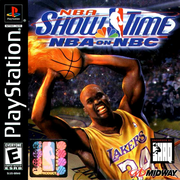 NBA Showtime - NBA on NBC - PS1 - ISOs Download