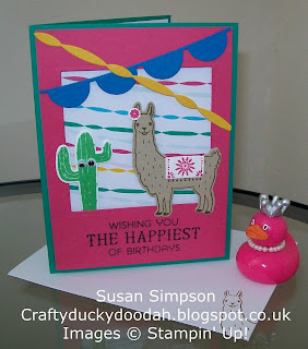 Stampin' Up! Susan Simpson Independent Stampin' Up! Demonstrator, Craftyduckydoodah!, Birthday Fiesta, Fiesta Time Framelits, Supplies available 24/7,