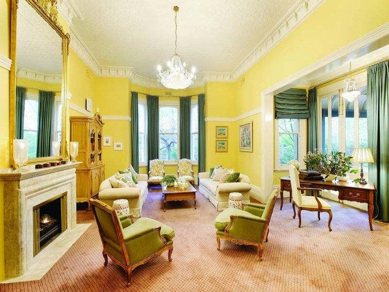 astonishing blue yellow living room | Astonishing Yellow Living Room with Beautiful Inspiration ...