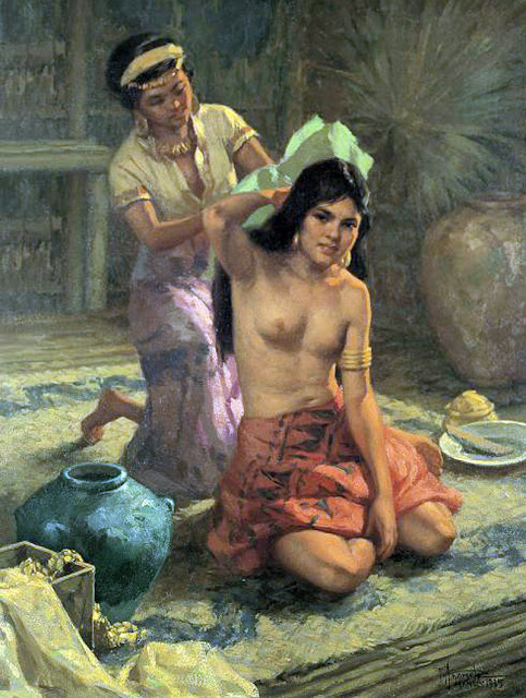 Fernando Amorsolo, Artistic nude, The naked in the art, Il nude in arte, Fine art