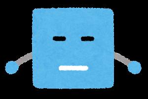 四角形のキャラクター3