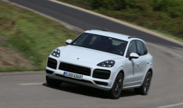 Porsche Cayenne E-Hybrid test