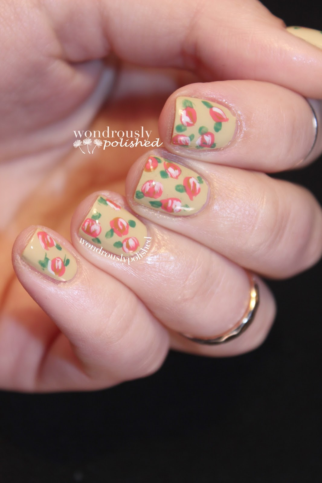 Wondrously Polished April Nail Art Challenge: Wondrously Polished: March Nail Art Challenge