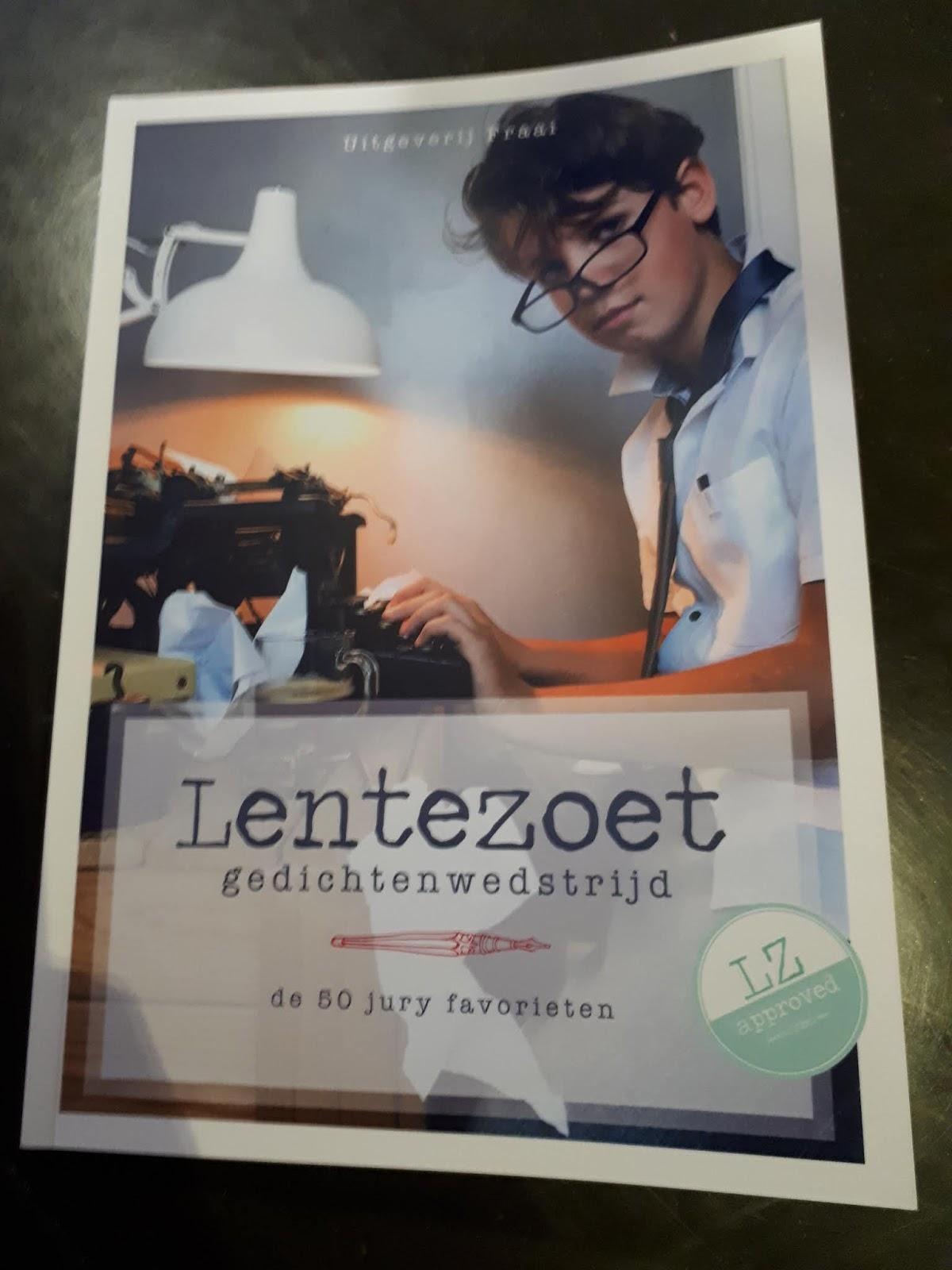 Wat Ik Nou Vind Van Lentezoet Gedichtenwedstrijd De 50 Jury
