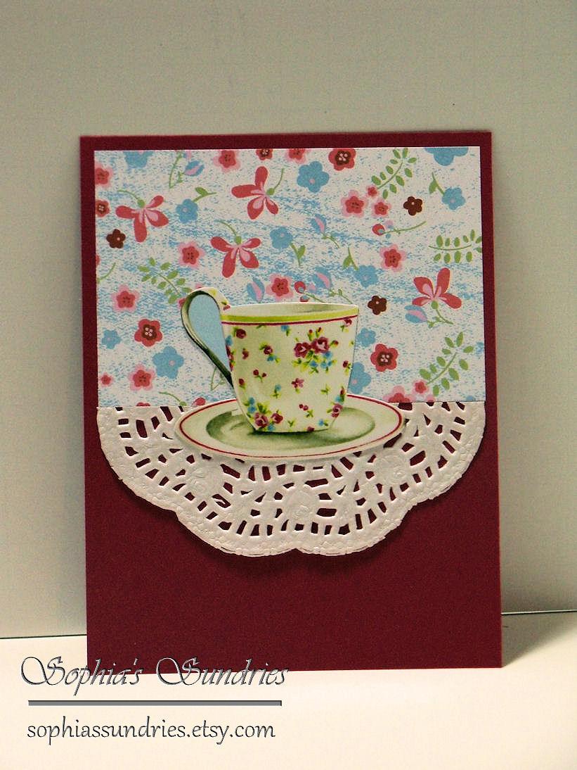 Teacup Cards   Sophia's Sundries