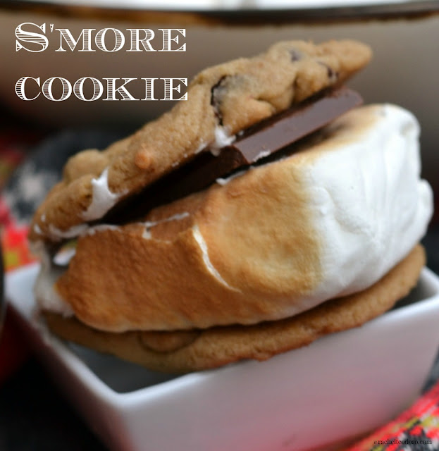 chocolate chip cookie s'more