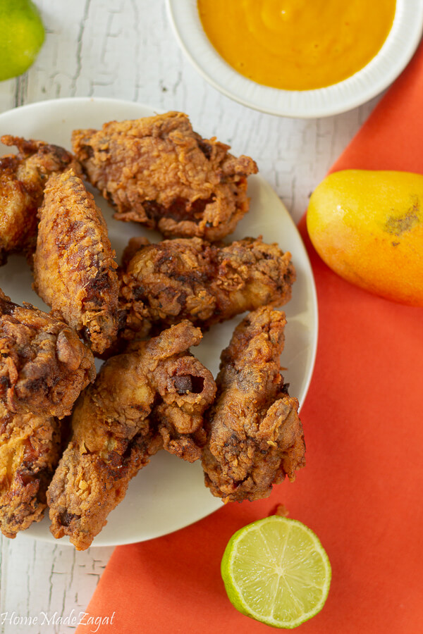 Jerk Fried Chicken