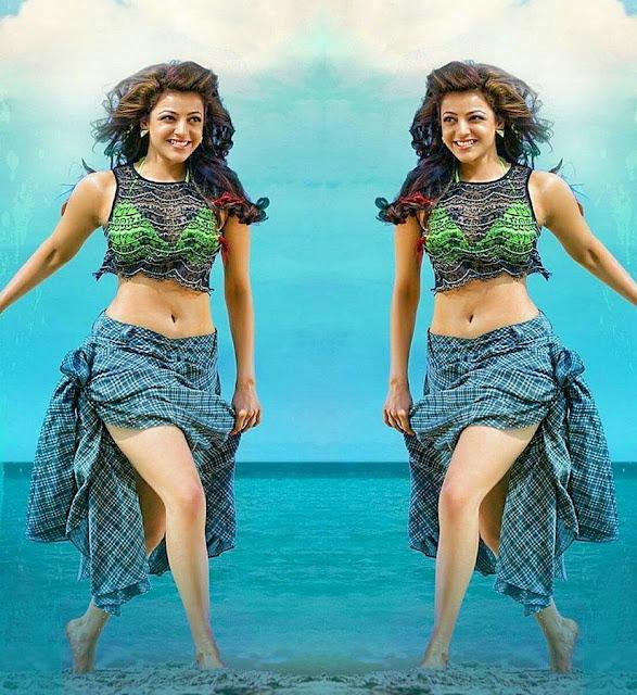 kajal agarwal new bikini pic from kavalai vendam tamil movie
