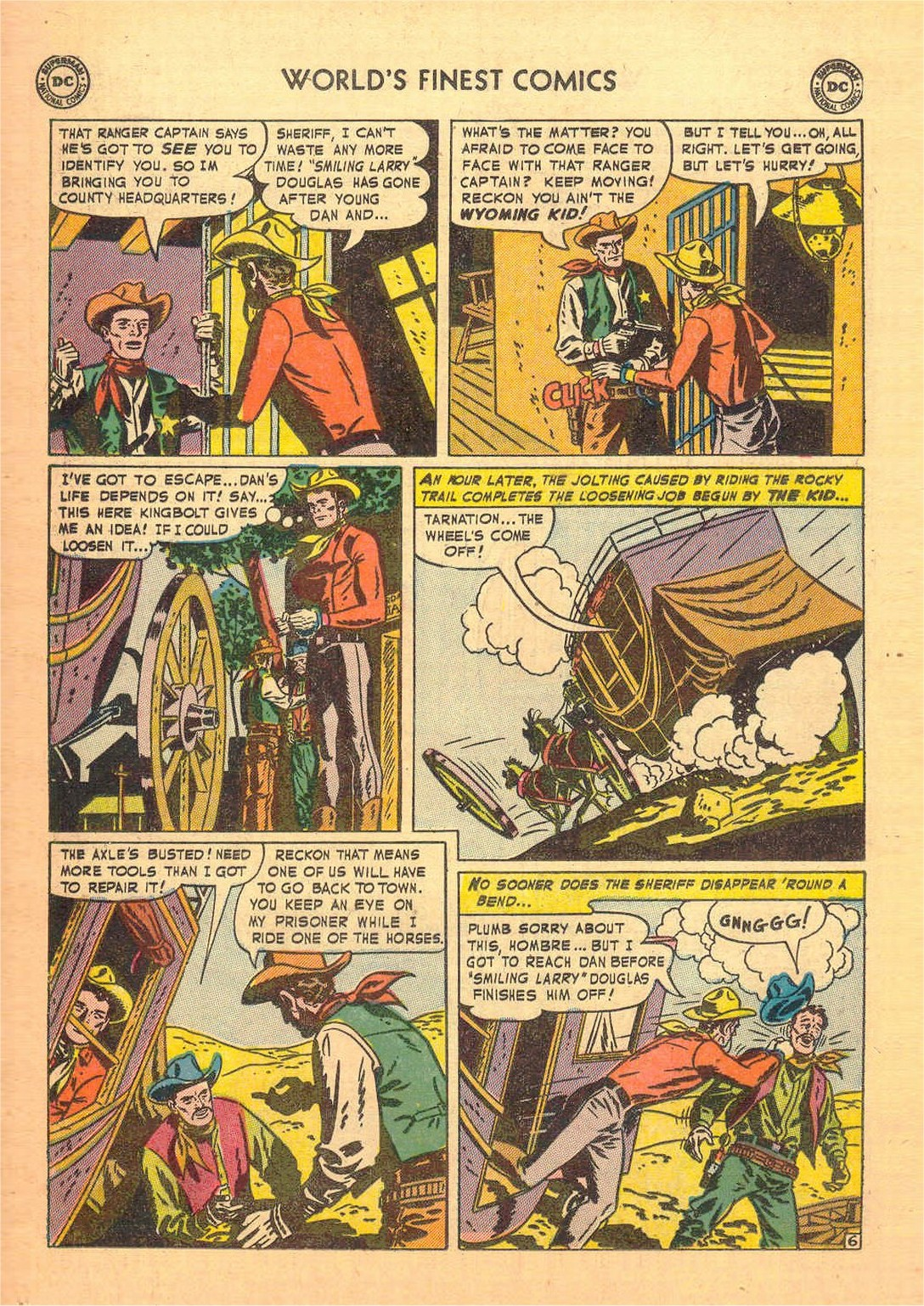 Read online World's Finest Comics comic -  Issue #58 - 34