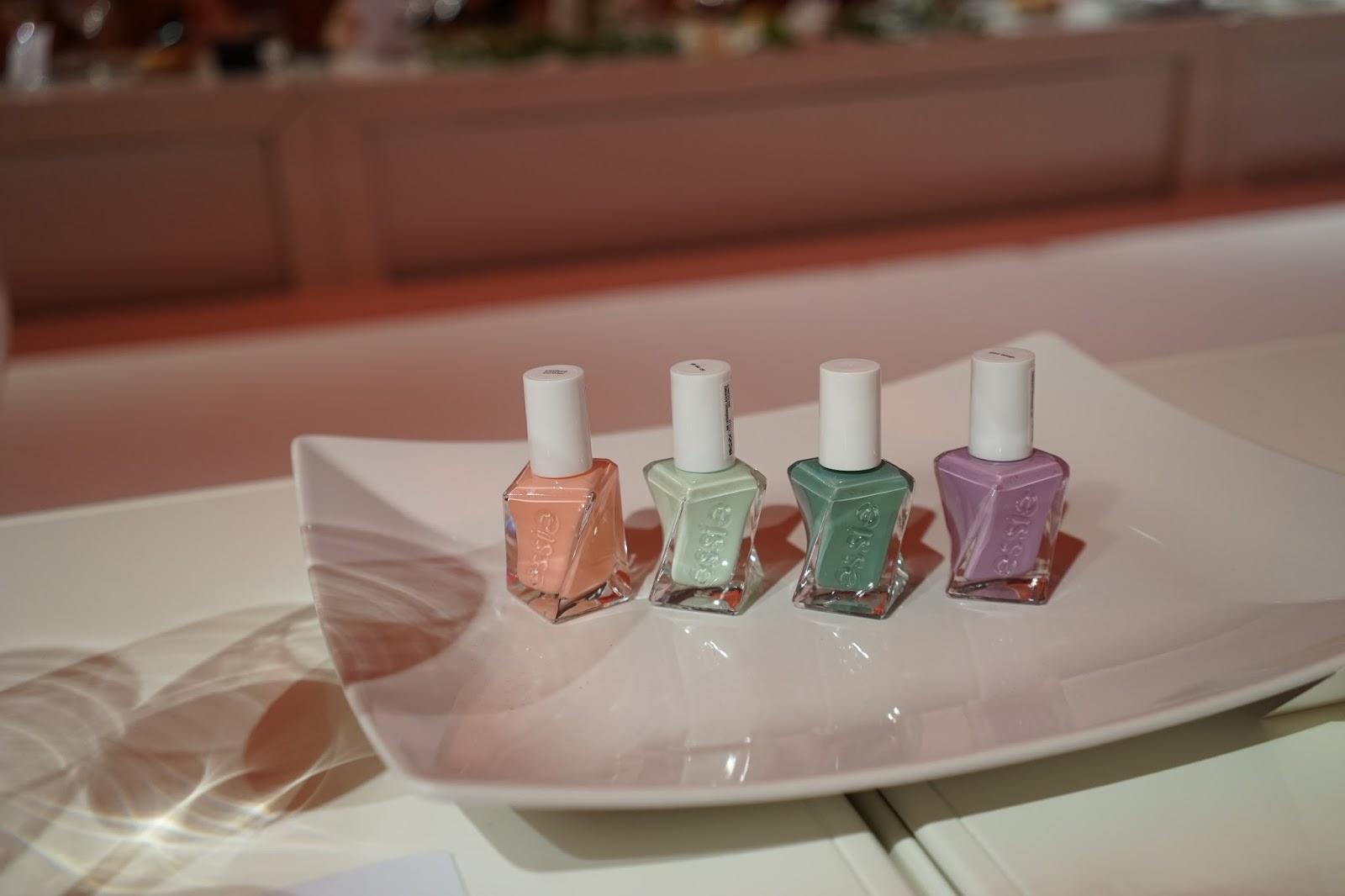 essie gel couture pastels