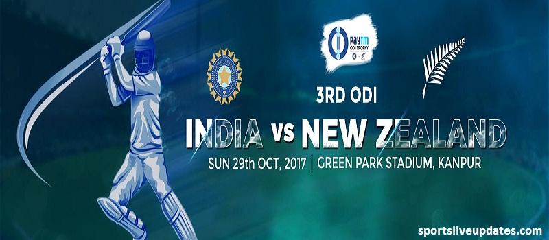 India vs New Zealand Final ODI Live Streaming