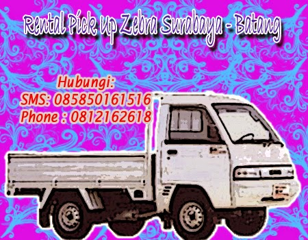 Sewa Pick Up Zebra Surabaya-Batang