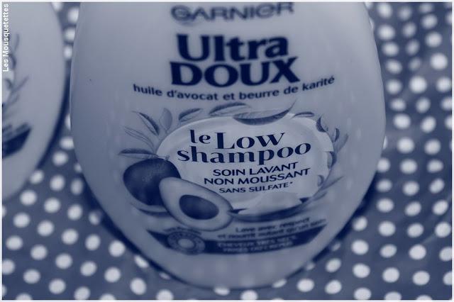 Low Shampoo, shampoing non moussant - Garnier - Blog beauté