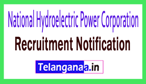 National Hydroelectric Power Corporation NHPC Recruitment Notification