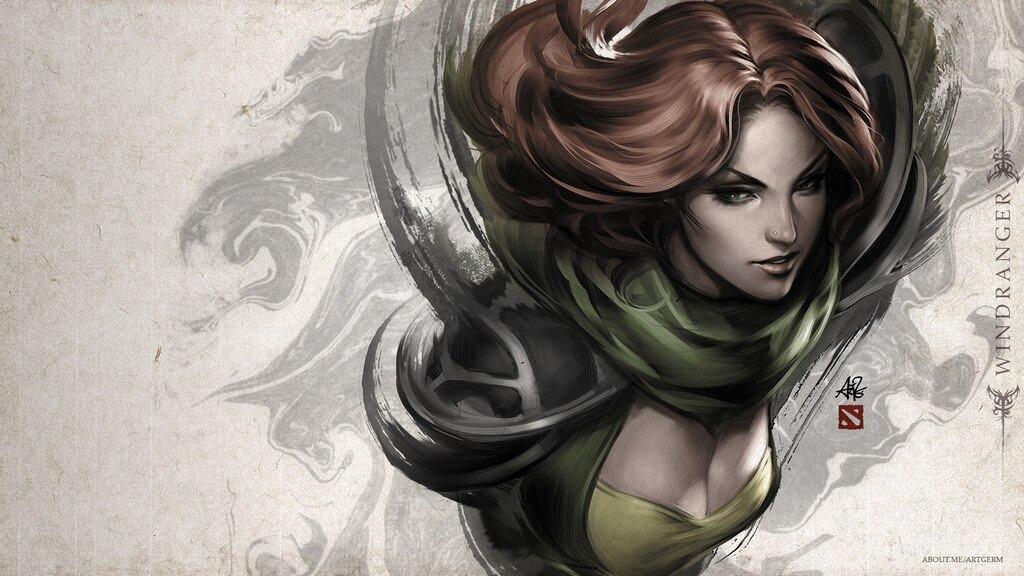 Top 10 Nữ Hero có nhan sắc đẹp nhất Dota 2 (phần 2) (Ảnh 1)