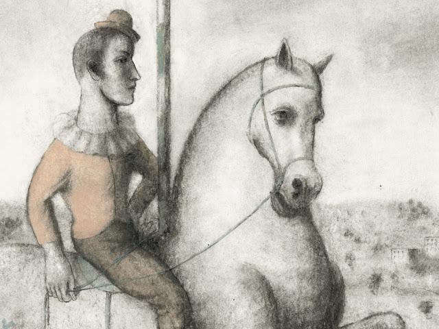 """Ilustração de Pablo Auladell para """"La feria abandonada"""" (2013)"""