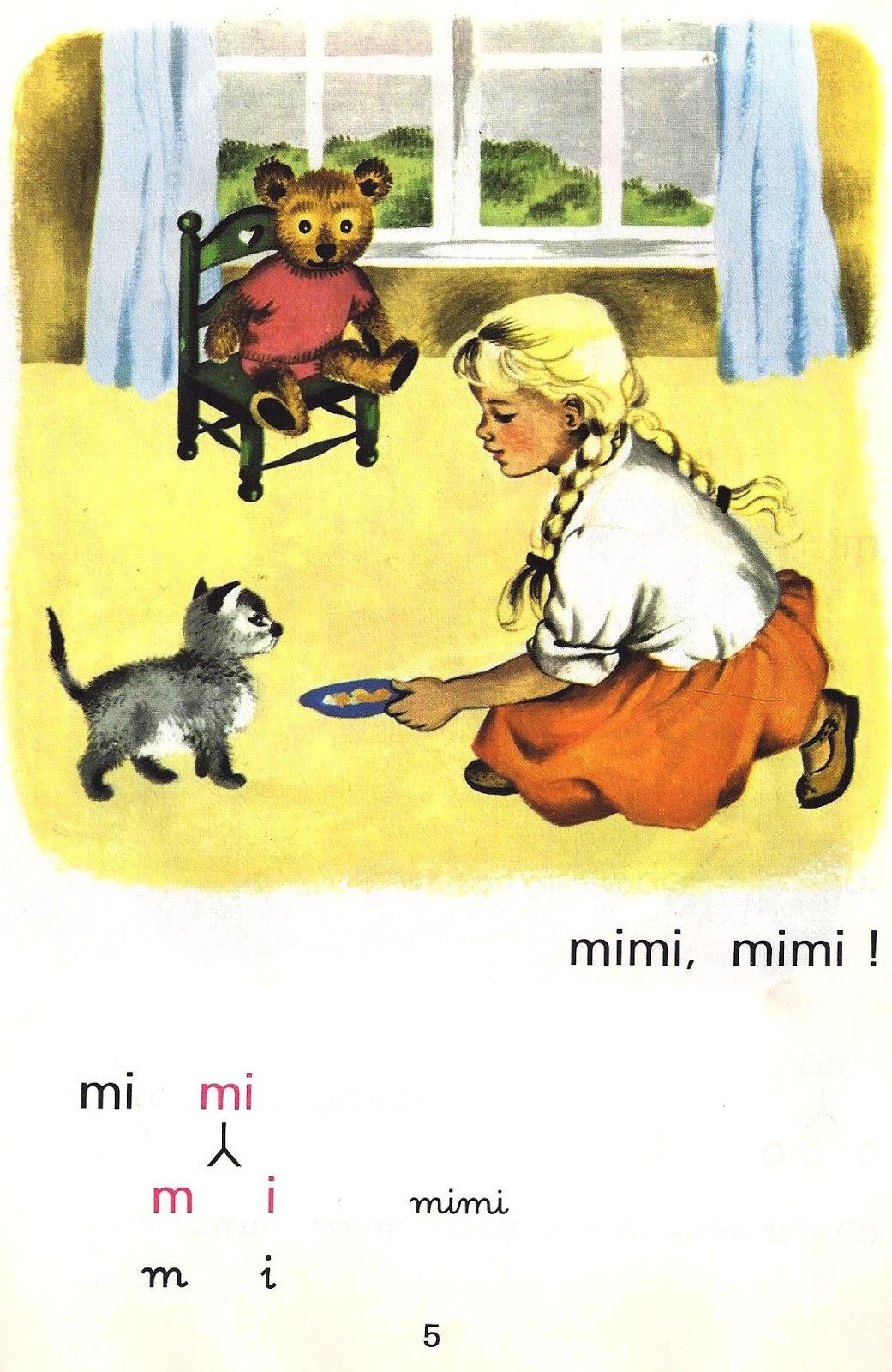 Fabulous Manuels anciens: A. Mareuil et M. Goupil, Mico, mon petit ours  RG81
