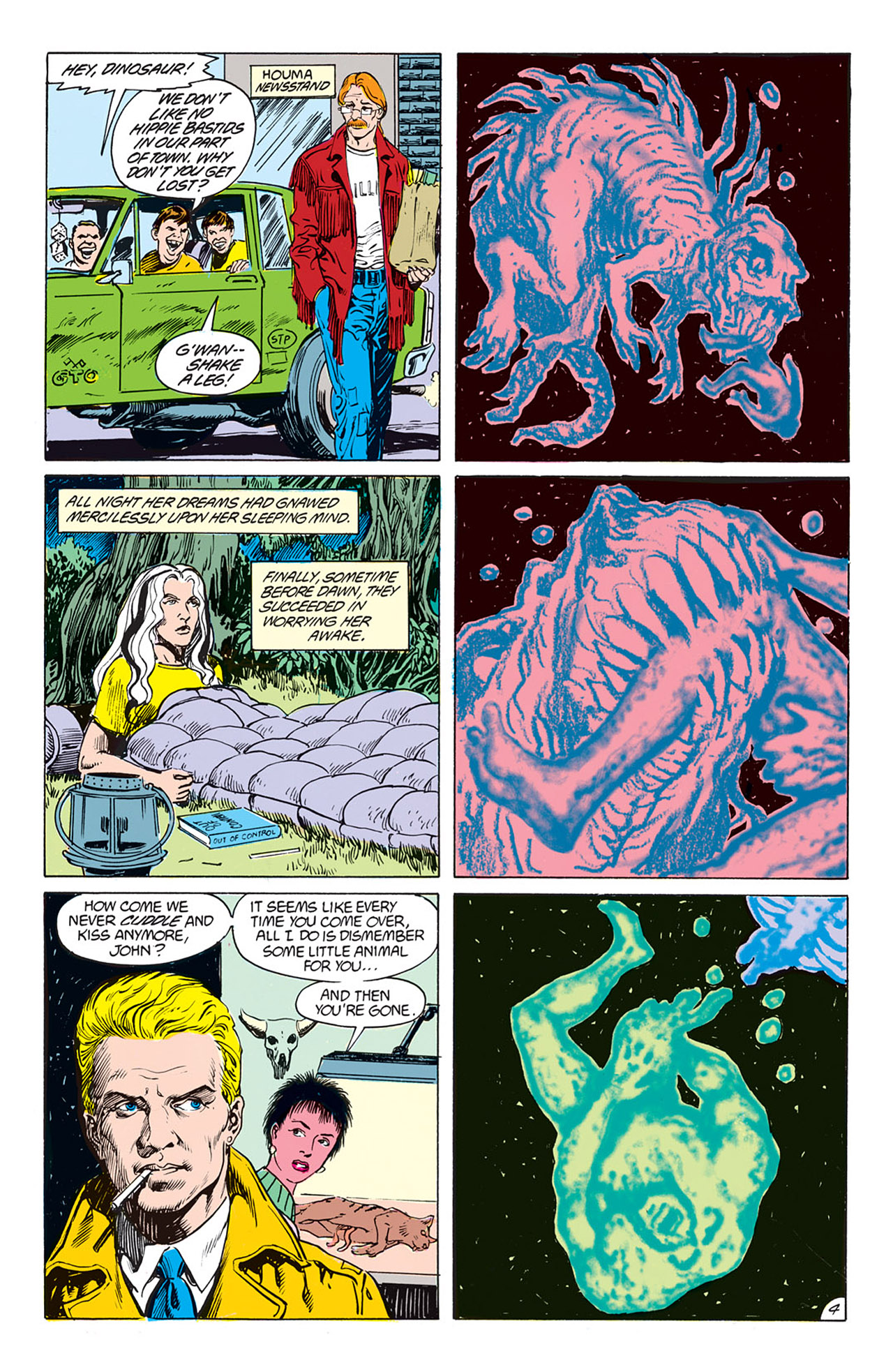 Swamp Thing (1982) Issue #73 #81 - English 5