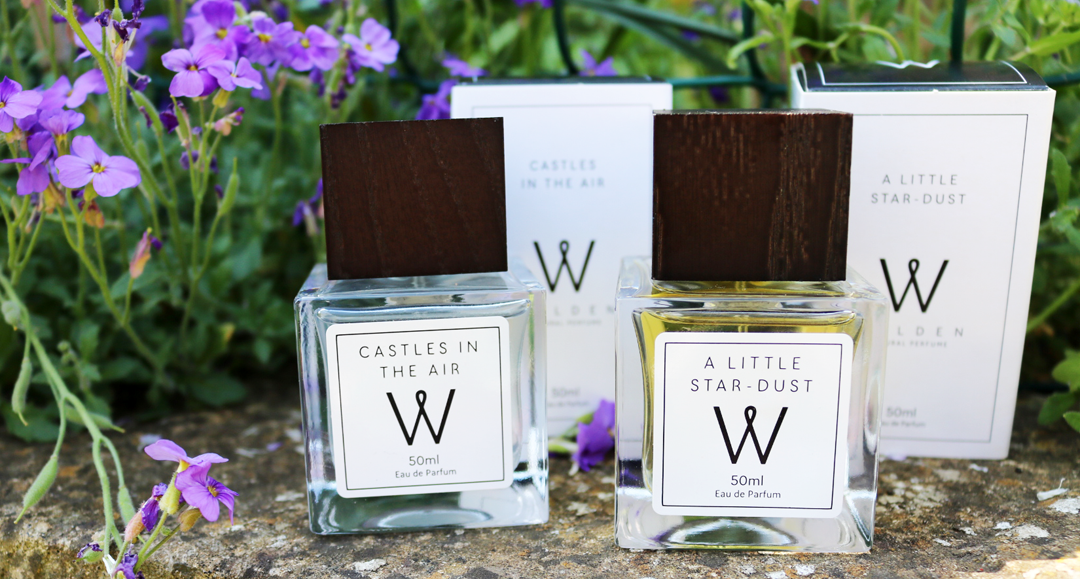 Walden Natural Perfumes - Castles In The Air & A Little Star Dust Eau de Parfums review