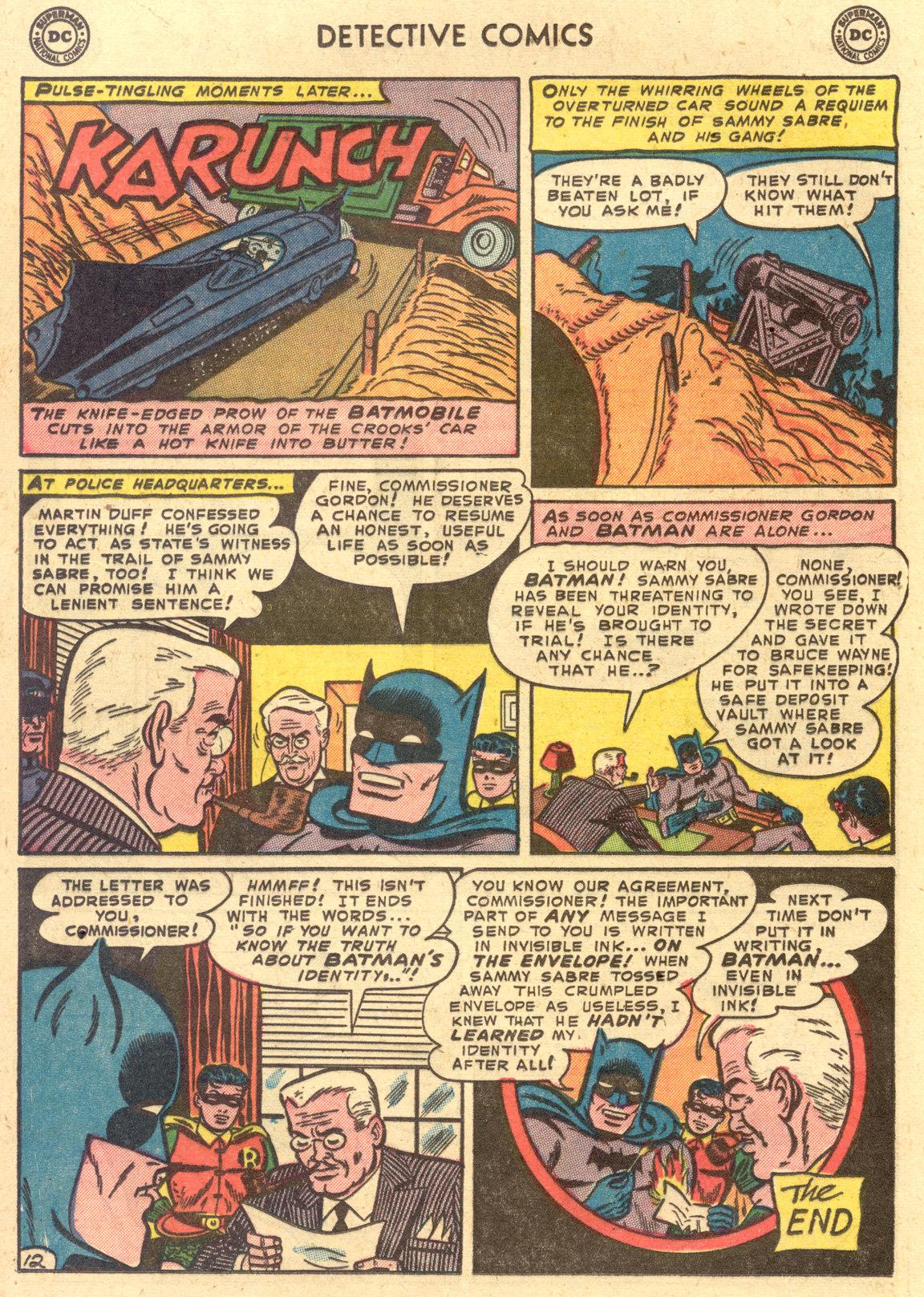 Read online Detective Comics (1937) comic -  Issue #194 - 14