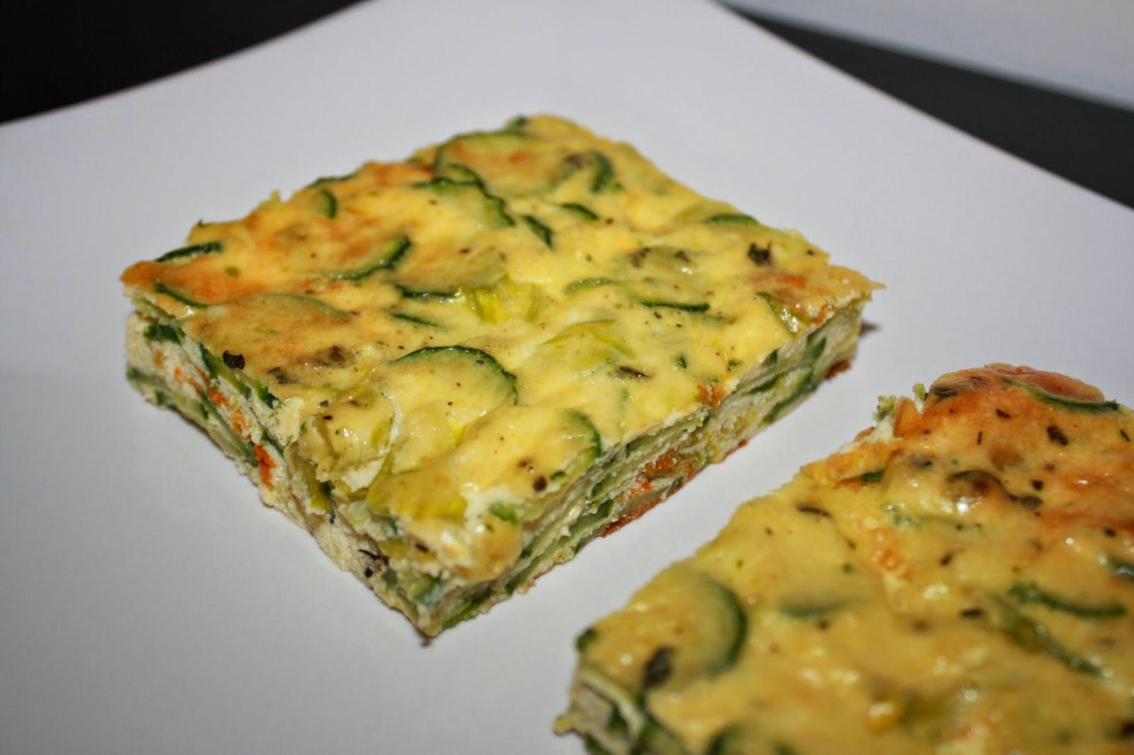 La cuciniera moderna ricette zucchine lo sformato for Ricette secondi
