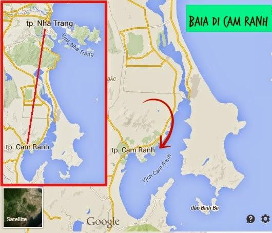 Cartina Cam Ranh