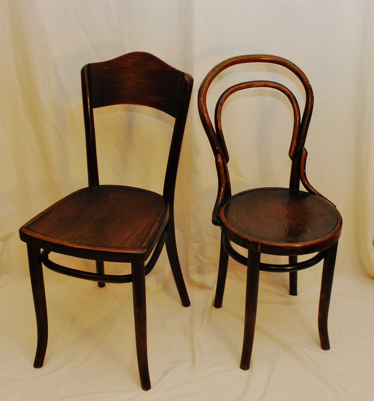Tribute 20th Decor Authentic Thonet Bentwood Chairs