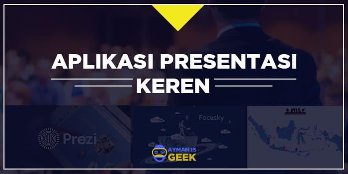Aplikasi Presentasi Terbaik dan Keren selain PowerPoint Gratis Offline atau Online