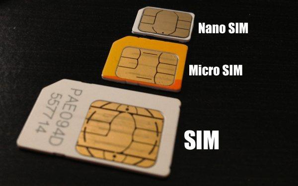 Cara Mudah Memotong Kartu Micro SIM Ke Nano SIM