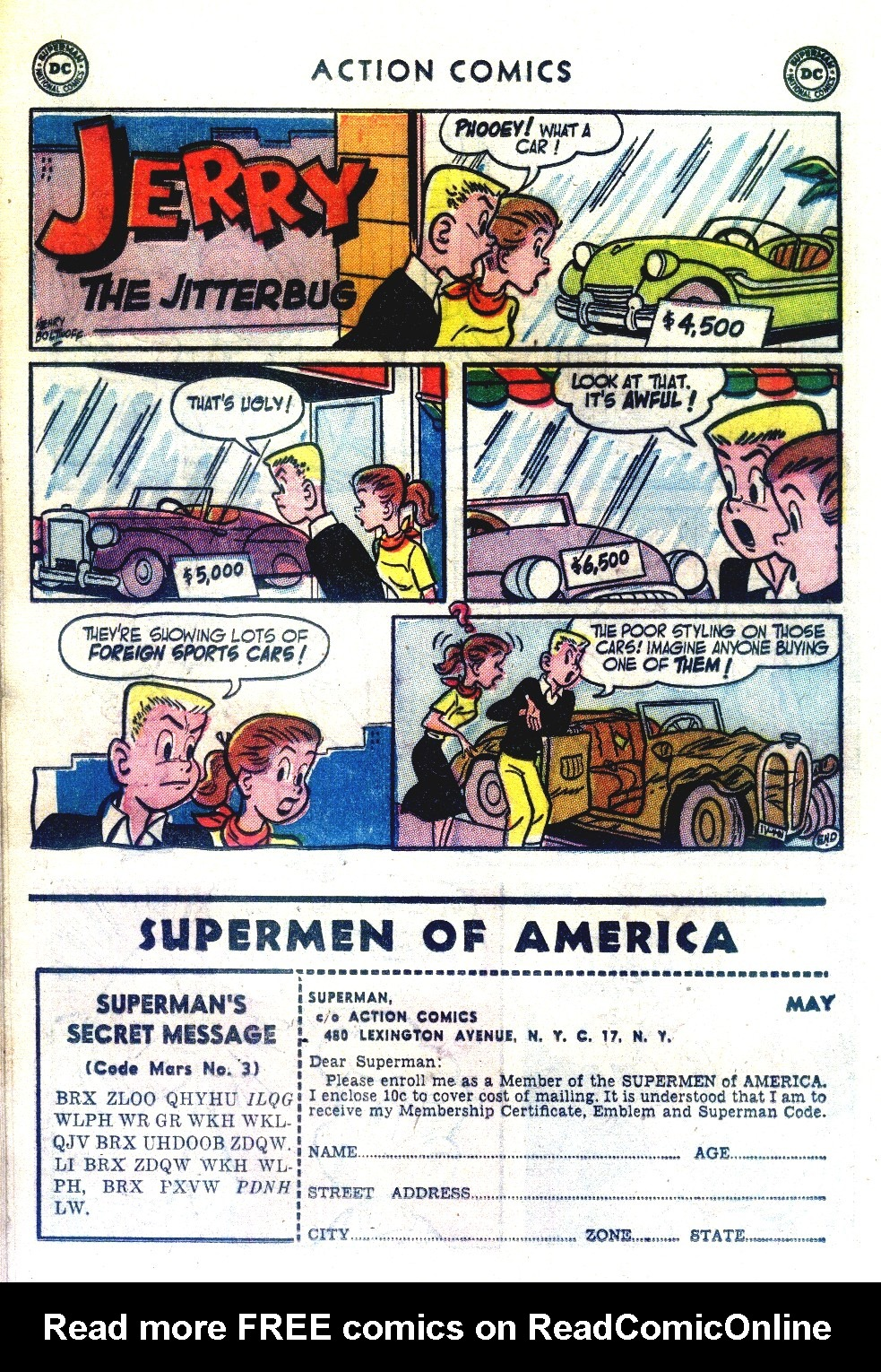 Read online Action Comics (1938) comic -  Issue #192 - 24
