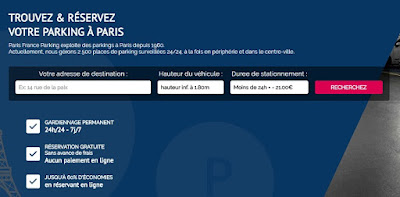 location de parking paris