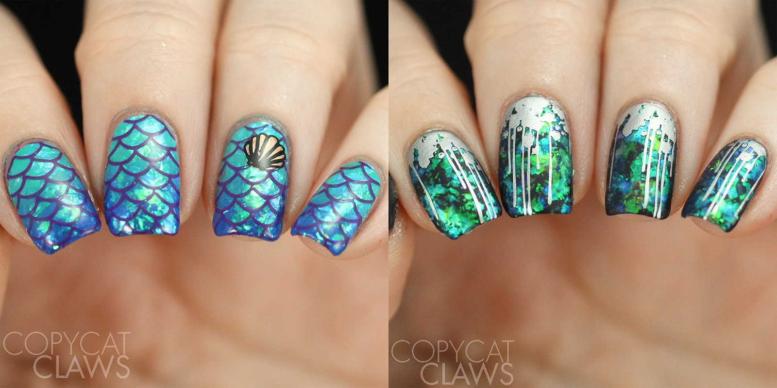 Copycat Claws: Whats Up Nails Mermaid Flakies