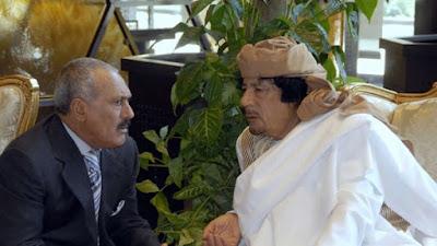 صالح والقذافي