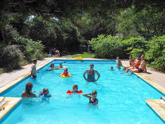 Zwembad zomer